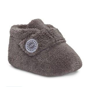 UGG Unisex Bixbee Plush Booties - Baby,  grey